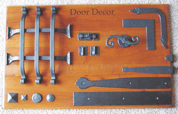 Custom Metal Garage Door Hardware & Accents